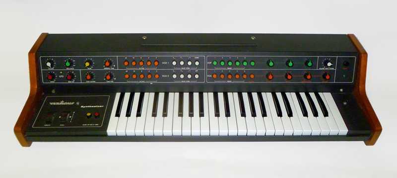 Vermona synthesizer samples