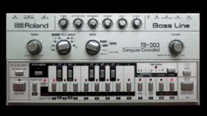 Roland TB-303 Bass Line Samples